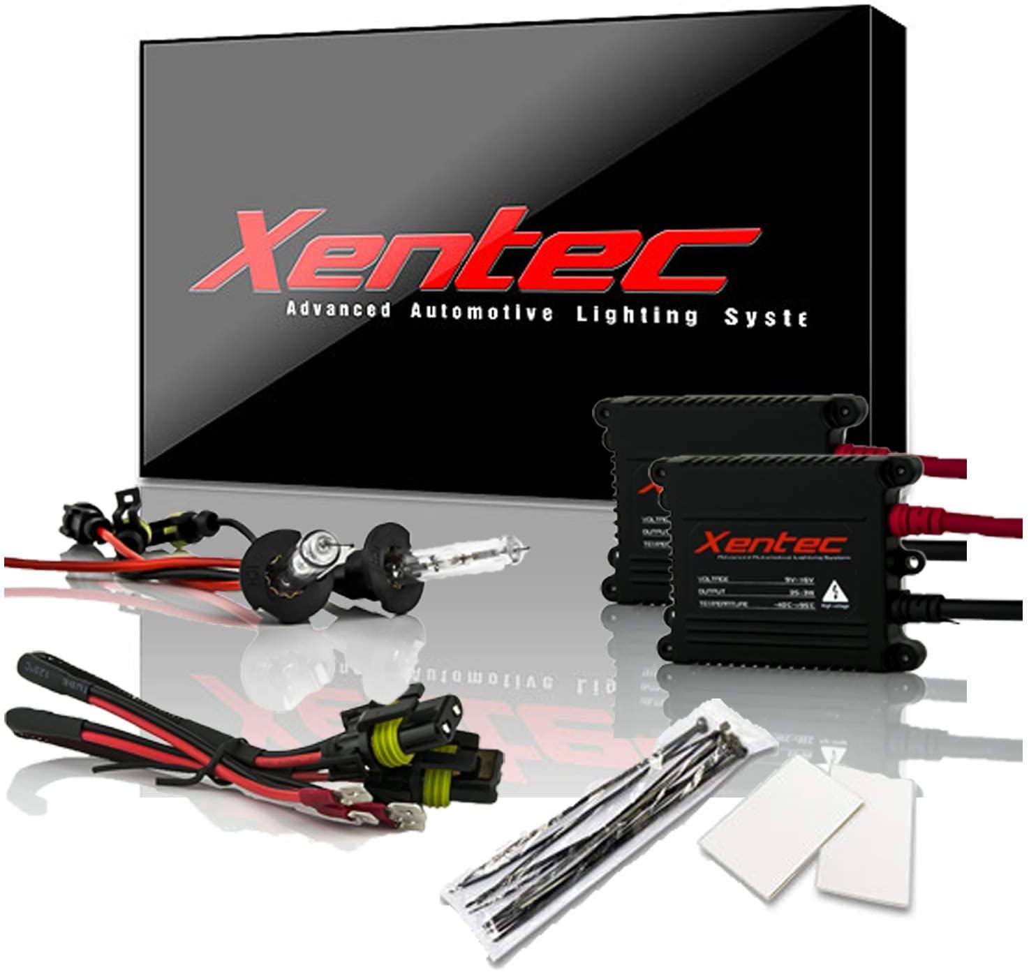 Xentec H3 6000K HID Xenon Bulb bundle with 55W EPE Alloy Slim Ballast (Ultra White)