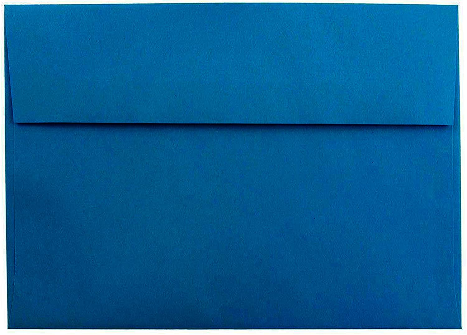 Shipped Free 100 Boxed Deep Royal Blue A7 Envelopes for 5 X 7 Greeting Cards Invitations Announcements from The Envelope Gallery