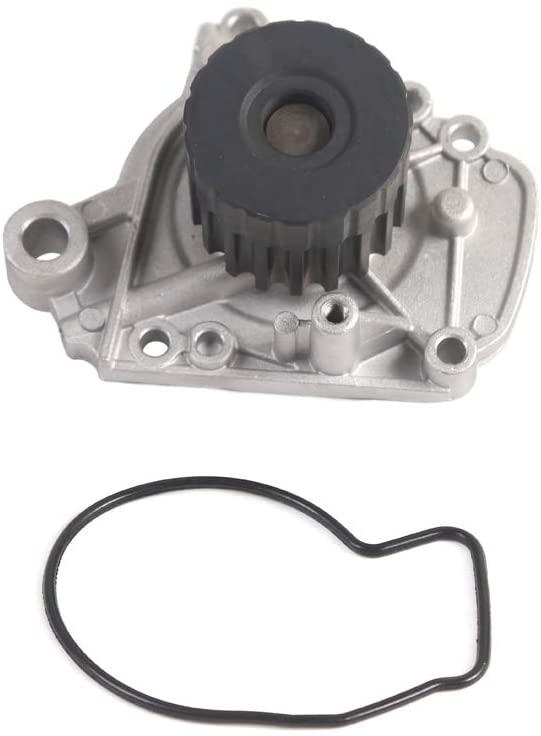 MOCA 135-1390 Engine Water Pump Kit for 96-00 Honda Civic Delsol 1.6L D16Y5 D16Y7 D16Y8 SOHC