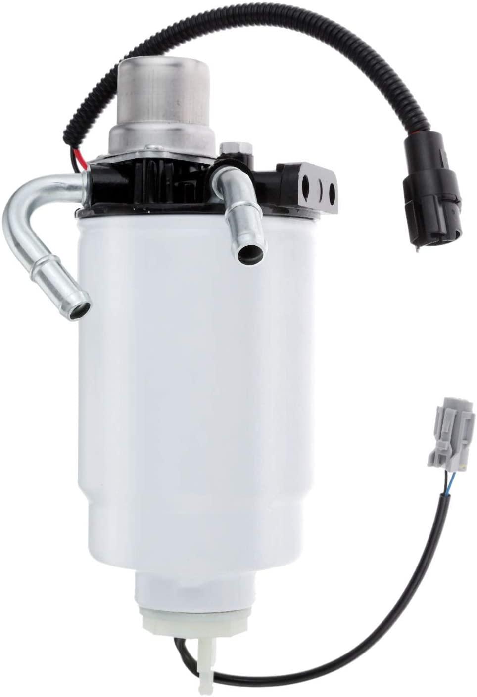 Aupoko 12642623 Fuel Filter Head for Duramax Fuel Filter Housing, 6.6 Duramax Fuel Filter Assembly Replace# 12642623, TP3018, 12639277, Fit for GMC Sierra Chevrolet Silverado 2500 HD 3500 HD