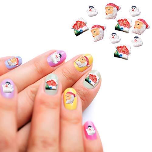 CCbeauty 3D Christmas Design Nail Sticker Snowmen Santa Claus Design Decal Manicure Decoration Nails Accessories