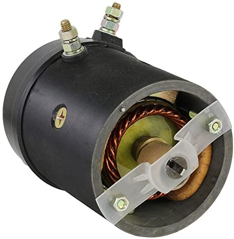 Rareelectrical NEW SNOW PLOW MOTOR COMPATIBLE WITH DUAL POST 21500 452254 FISHER & WESTERN W/OIL SEAL 12V 21500 452254