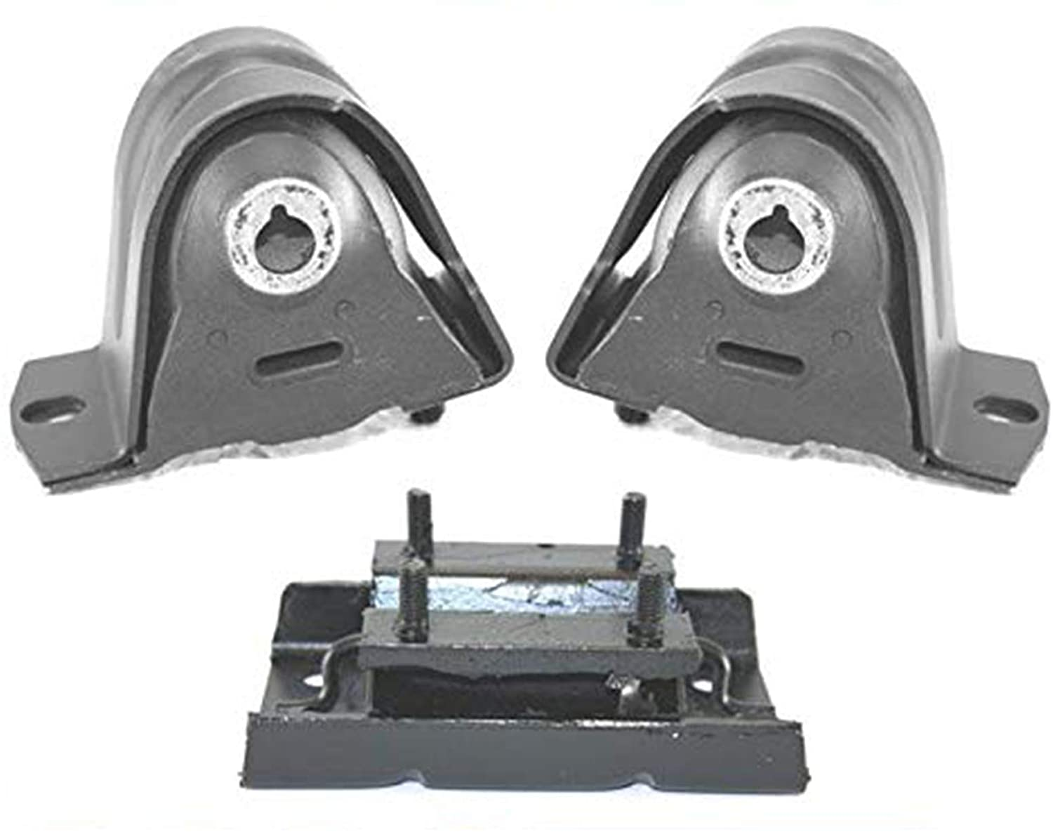 Engine and Transmission Mounts for Jeep Wrangler & TJ 3Pc 97-06