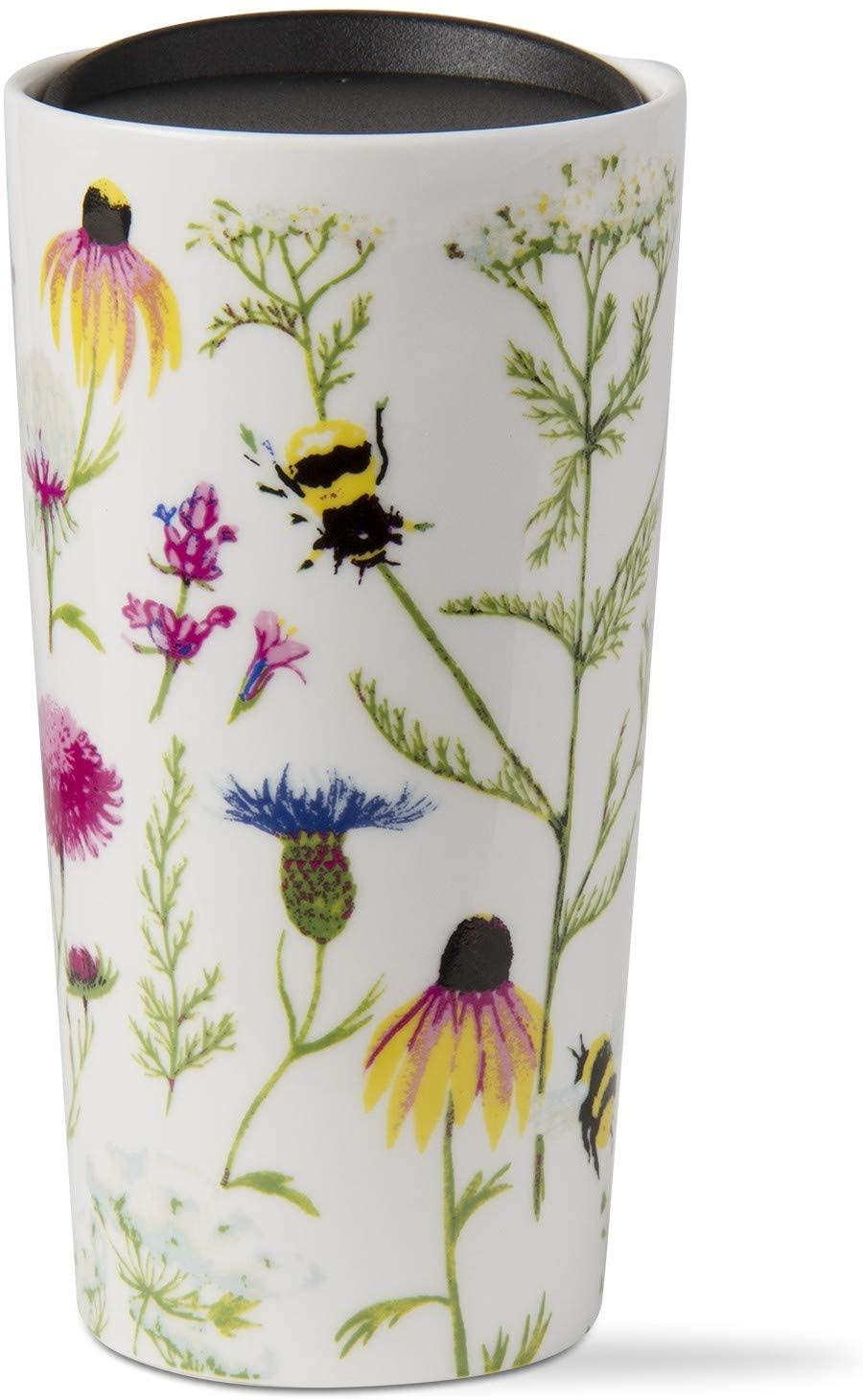 TAG, Mug Travel Bee Floral