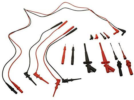 5674C - Test Lead Kit, Deluxe Electronic, Adjustable Probe Tip Length, Digital Multimeter (5674C)