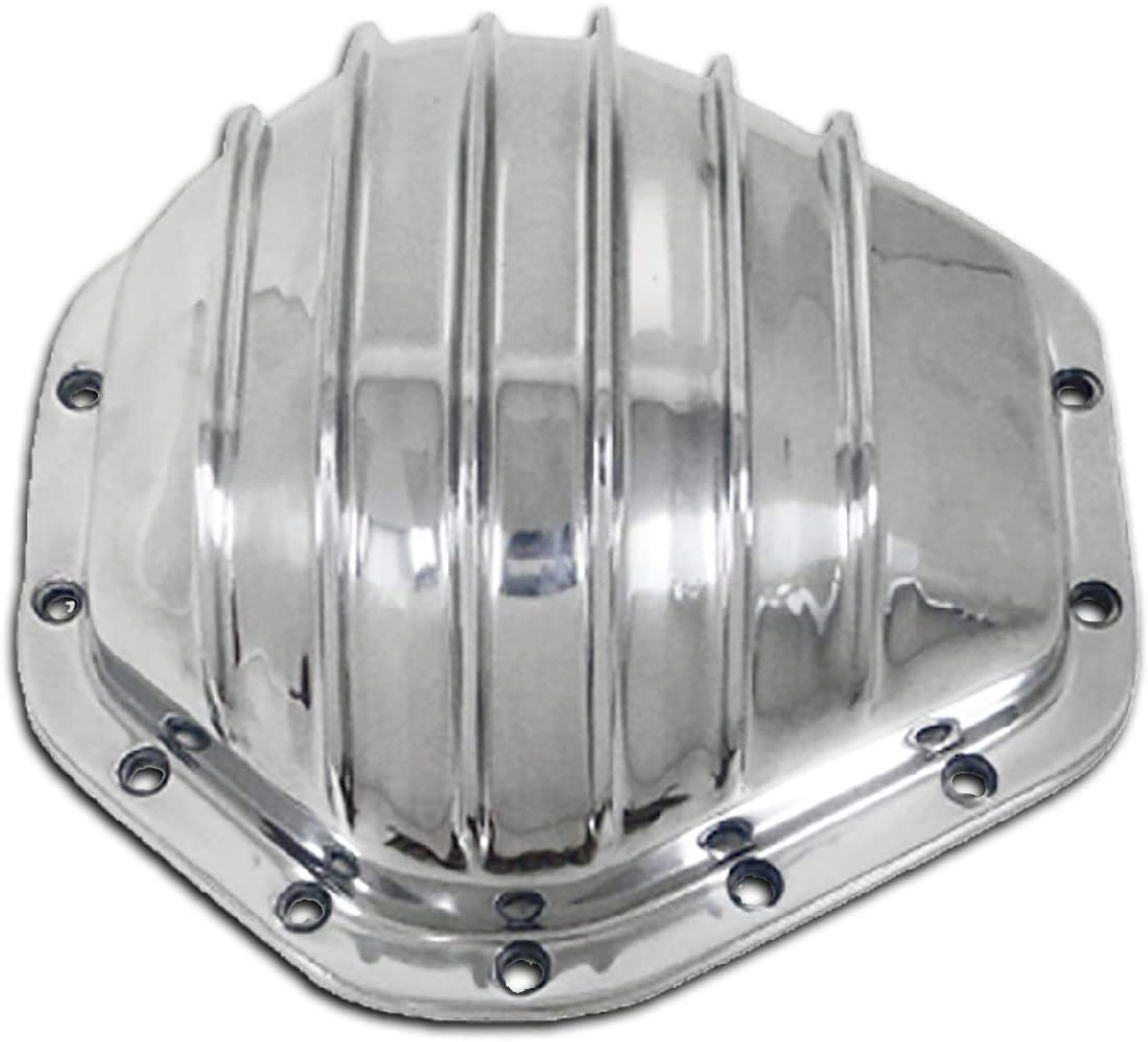73-00 Chevy GMC Truck Polished Aluminum Rear Differential Cover &10.5