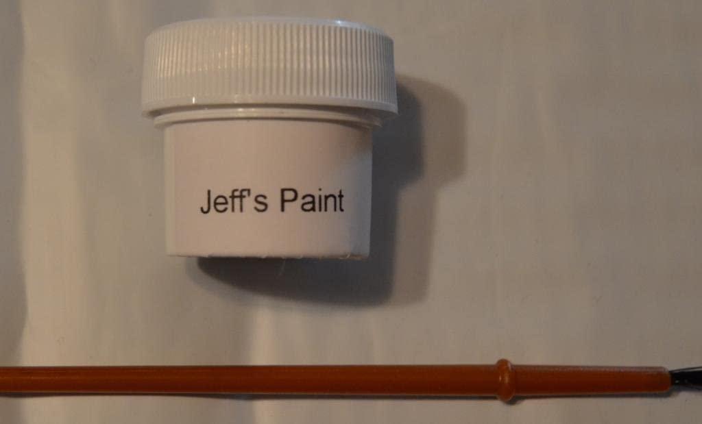 Jeff's Paint Honda NH578 Tafetta White Touch up Kit