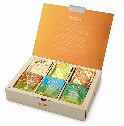 BOH Tea Variety Gift Pack Cameronian Black, Lime Ginger Tea, Lemon Mandarin Tea, Chamomile Tea, Peppermint Tea, Lemon Myrtle, 48 Count