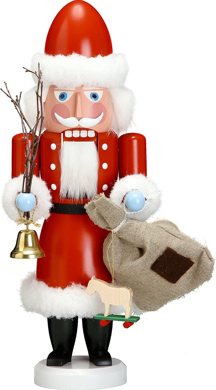 Nutcracker figure Christmas original Seiffen Santa Claus 38 cm ore mountains NEW
