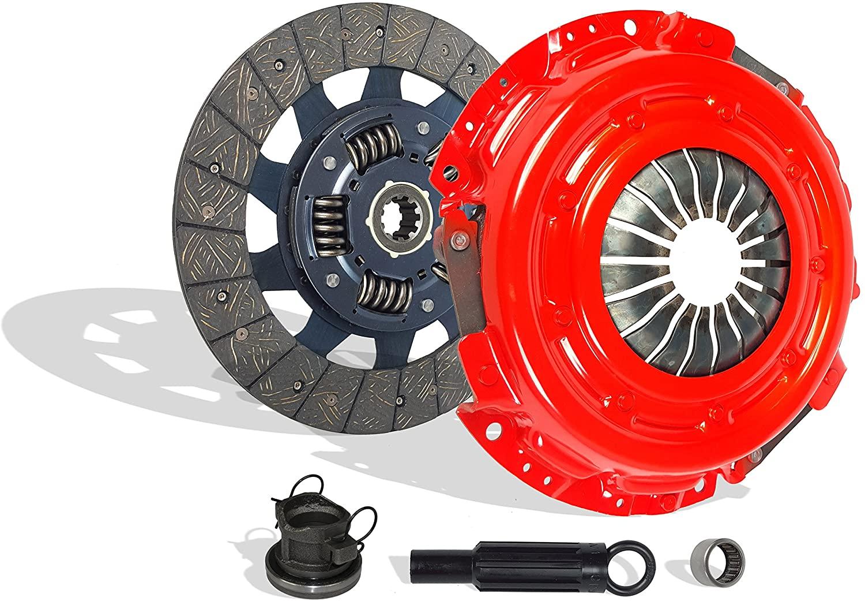 Clutch Kit Compatible With Dakota Ram 1500-3500 B 150-250 1500-35 SXT TRX4 Sport 1994-2009 5.9L V8 GAS OHV Naturally Aspirated (Stage 1; Clutch Kit Works With 11