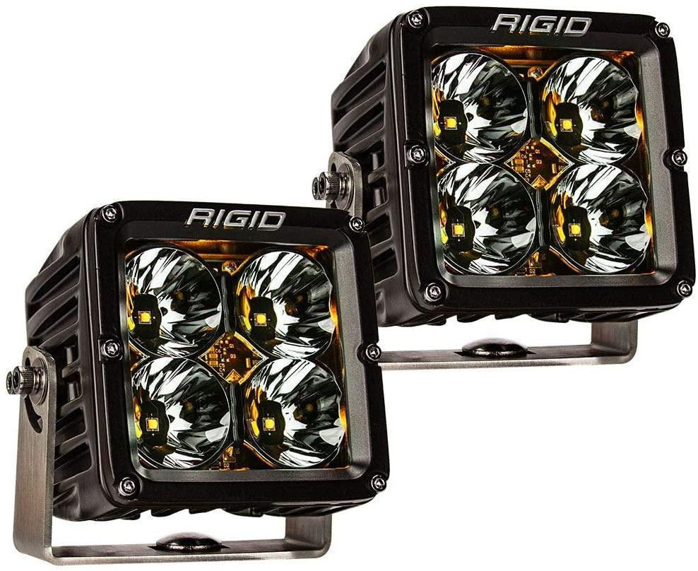 RIGID RADIANCE POD XL AMBER BACKLIGHT PAIR (Set of 2 Lights), RIGID 32205