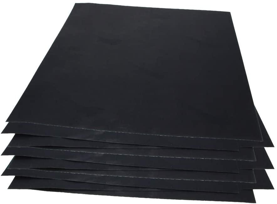 Utoolmart 1500 Grits Sanding Sheets Wet Dry Silicon Carbide Sandpaper for Wood Furniture Metal Automotive Polishing 10pcs