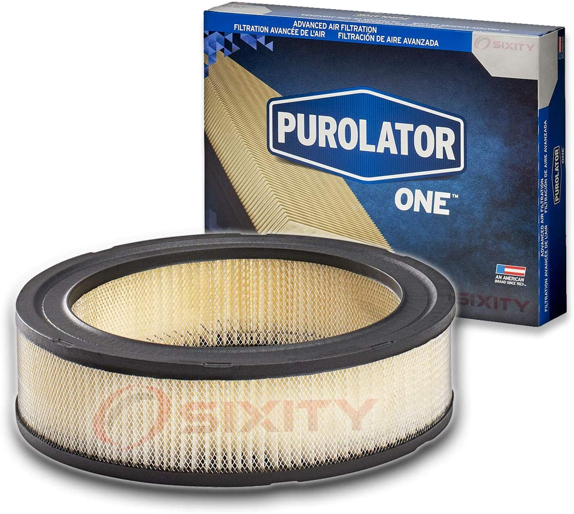 Purolator ONE Engine Air Filter for 1971-1974 American Motors Ambassador - Intake Flow Filters