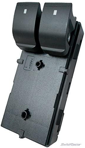 SWITCHDOCTOR Window Master Switch for Chevrolet 2007-2013 Silverado 1500 2500 3500 Regular Cab (2 Door)