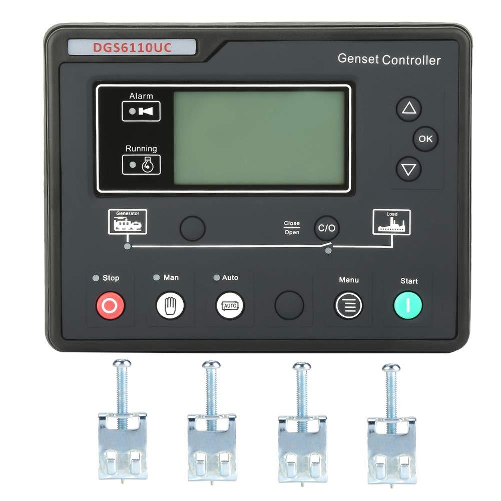 Universal DGS6110UC Electronic Generator Controller Module Control Panel LCD Display