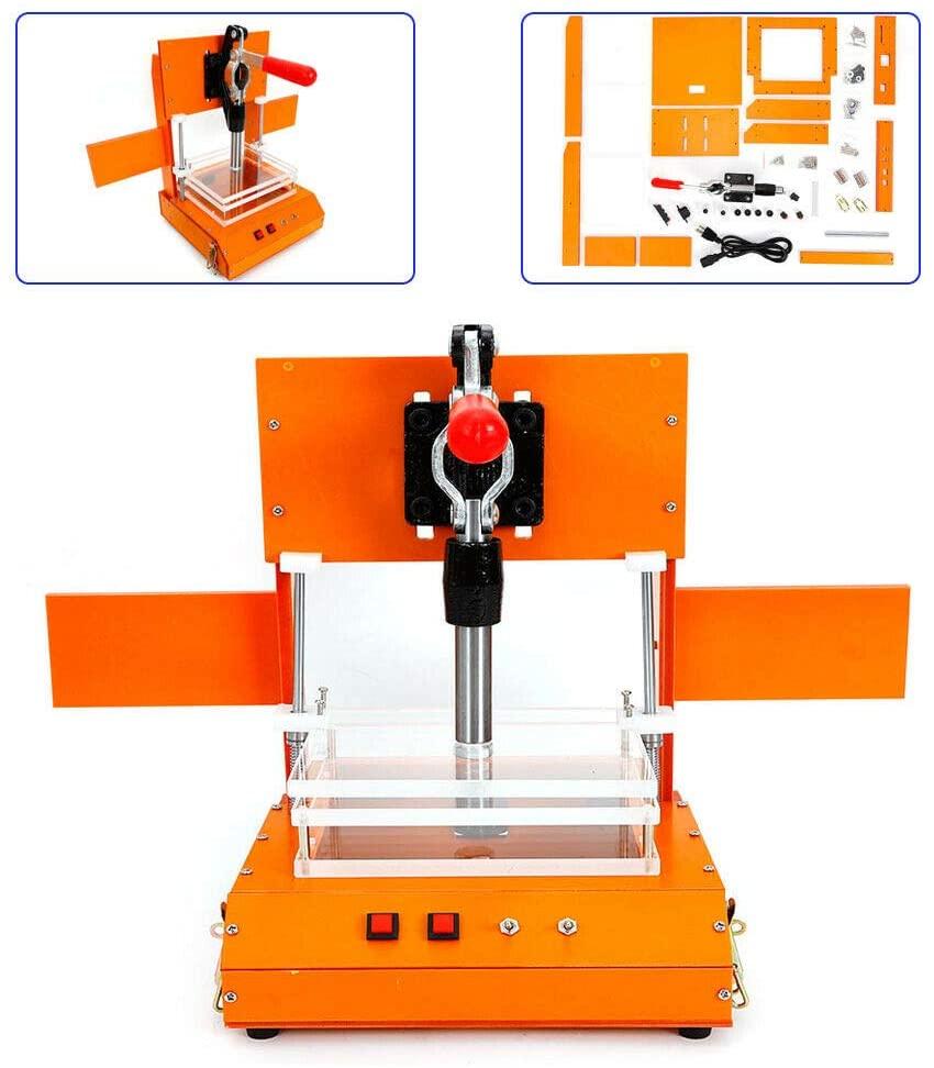 Universal Test Frame,Professional Test Frame FC Type PCB Charger Testing Jig Fixture Tool Bakelite PCBA Test Fixture Test Rack 150x130x60MM