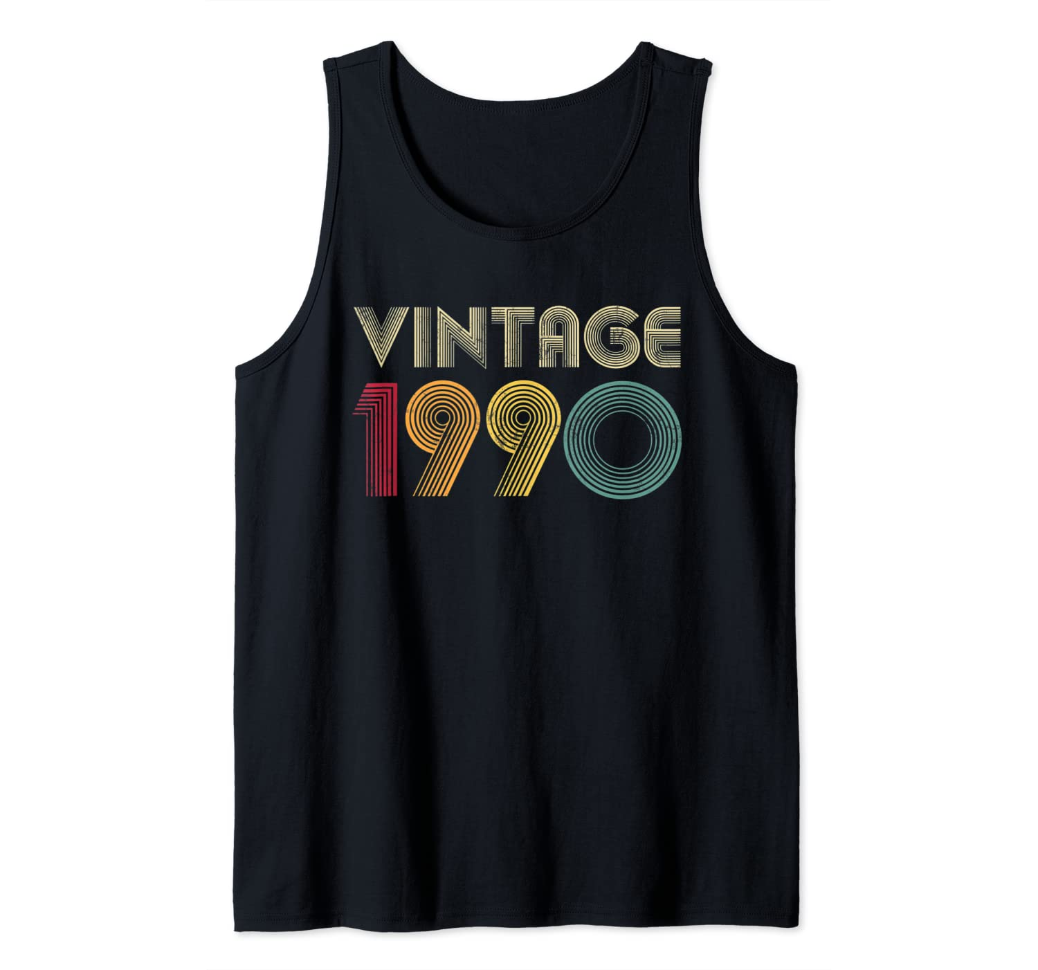 1990 30th Birthday Gift Vintage Mens Womens 30 Years Old Tank Top