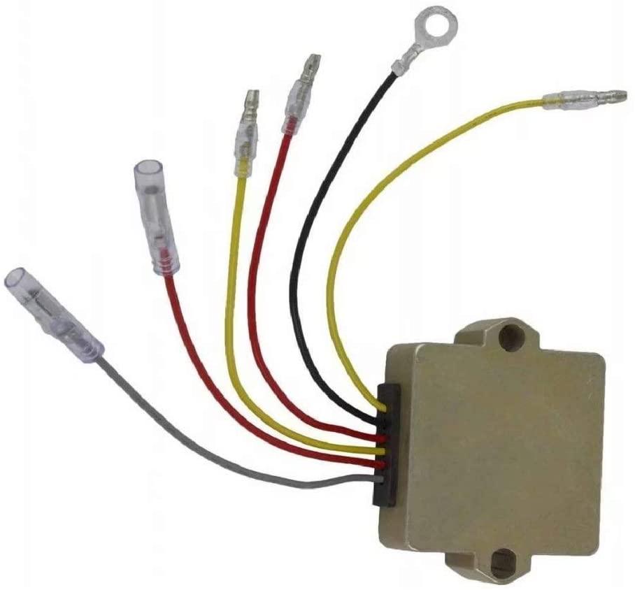 Brand New Voltage Regulator Rectifier For Mercury Mariner Outboard 12 Volt 6 Wire 815279-3 75-200 HP