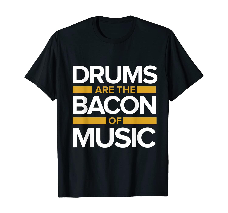 Drummer Gifts Music Musical Instrument Drums T-Shirt