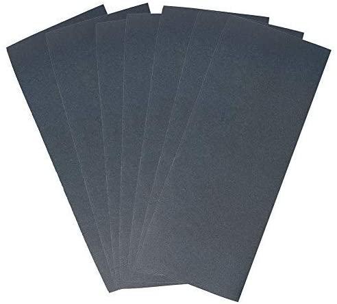 320 Grit Dry Wet Sandpaper Sheets by LotFancy, 9 x 3.6