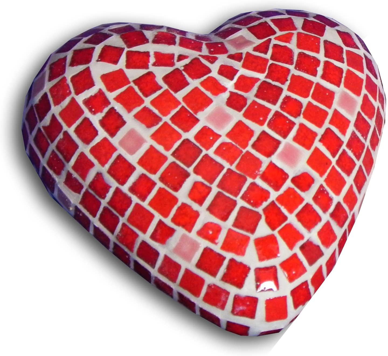 ALEA Mosaic Craft Kit, 3D Sculpture, Heart x2