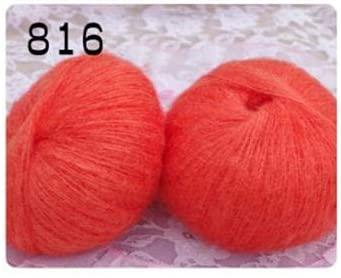 LY 25g/Ball Cotton Yarn Mohair Yarn for Knitting Wool Jewelry Plush Wool Chunky Knitting Yarn Hand Knitting Thread Wholesale FZ30 (16)
