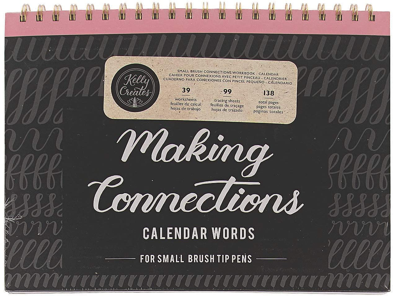 American Crafts - Small Brush Calendar Words Workbook - Crafts for Kids and Fun Home Activities