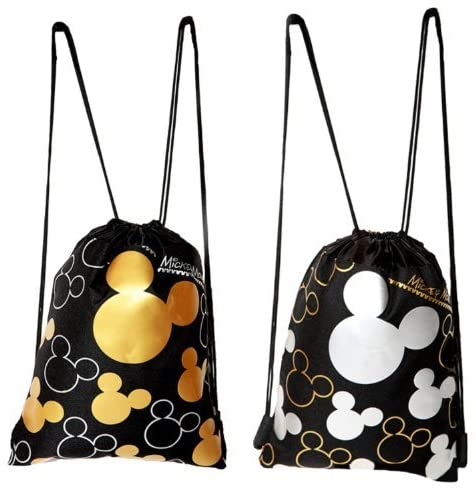Disney Mickey Mouse Drawstring Backpack 2 Pack by Generic