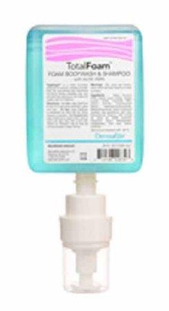 Shampoo and Body Wash TotalFoam 1000 mL Mild Dispenser Bottle