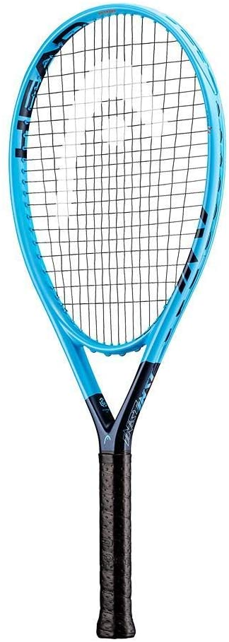 Head Graphene 360 Instinct PWR Tennis Racket (4 1/8 Inch Grip) Strung with Natural Colored String