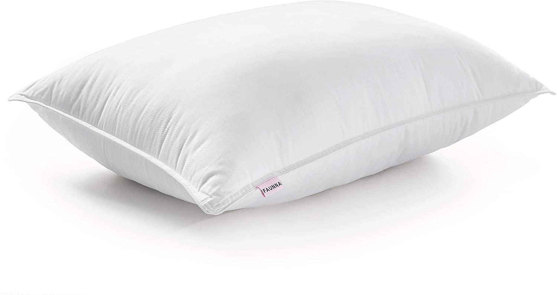 FAUNNA Lux Pillow for Sleeping (1-Pack) (Queen) - Gel Fiber Down Alternative