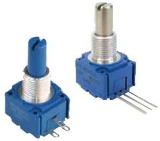 Potentiometers 100K 20% 5/8' SQ ST, Pack of 10