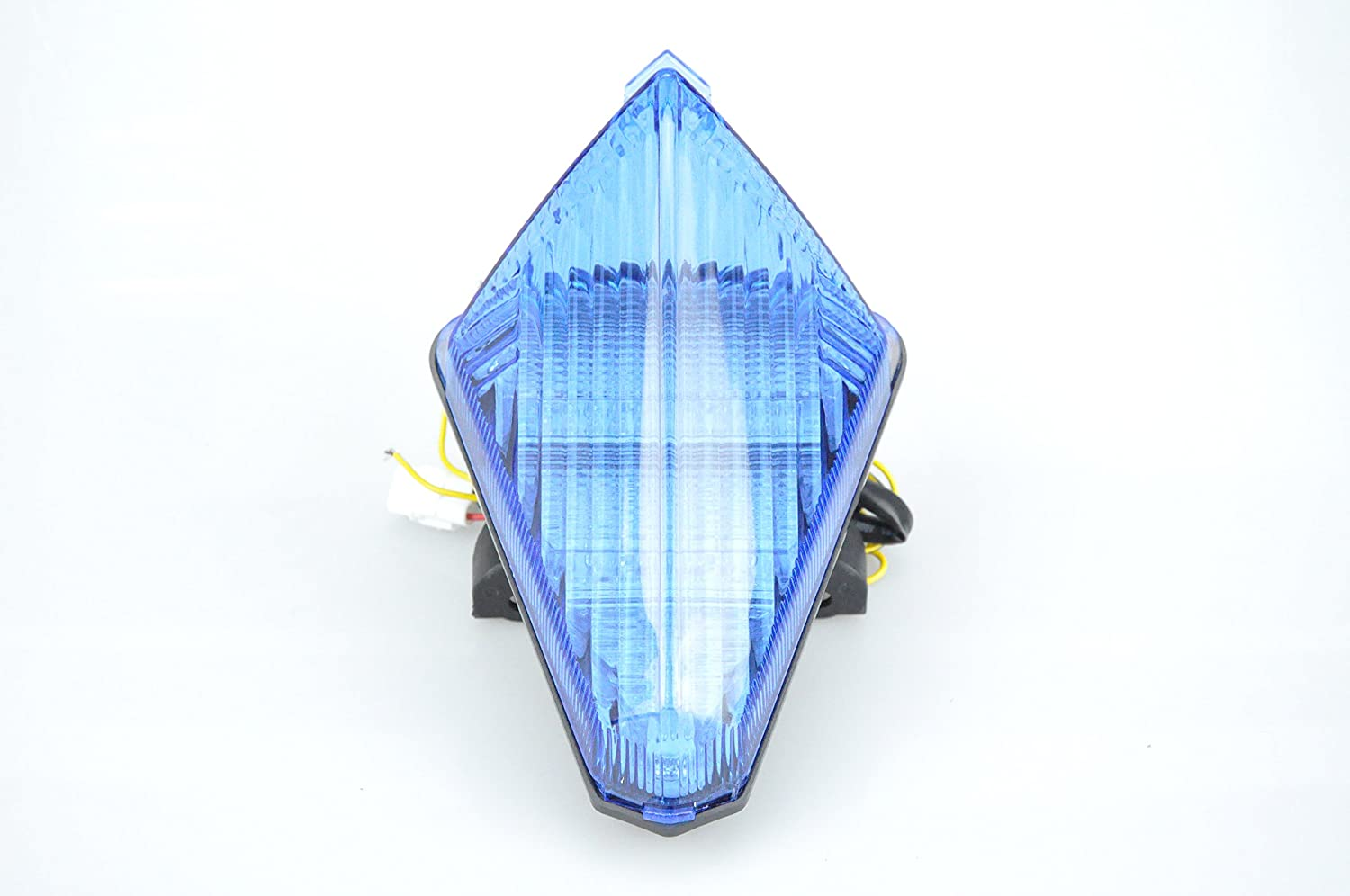 Bright Motorcycle LED Tail Light with Turn Signals for YAMAHA 07-08 R1;15- TMAX blue Lens