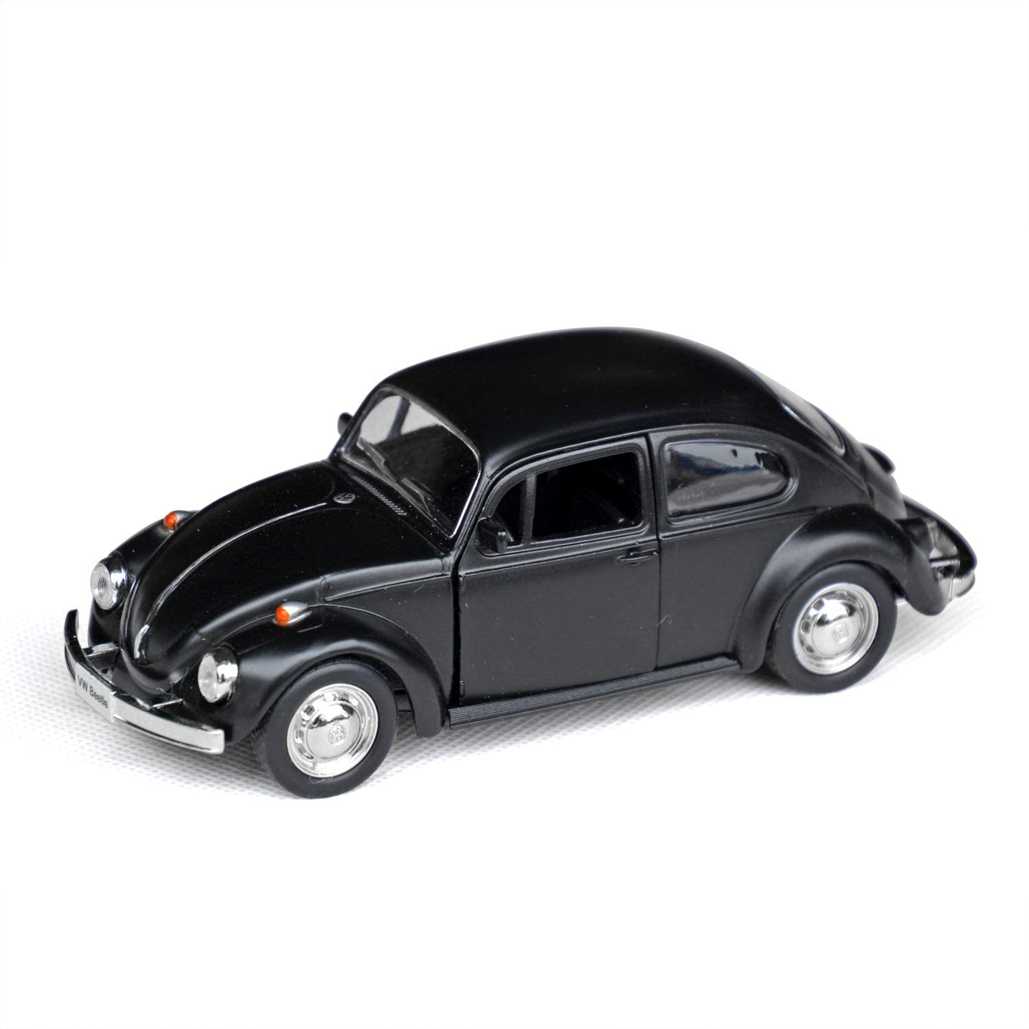 Tianmei 1:32 Scale Classic Car Alloy Die-Cast Car Model Collection Decoration Ornaments, Kids Play Vehicle Toys with Pull Back Action and Open Doors (JKC 1967 - Black)