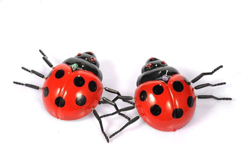 fineshelf 3pcs Pull The String Toy Beetle Pull Animal Toys - Energy-Saving Plastic Material for Kids Children's Toys