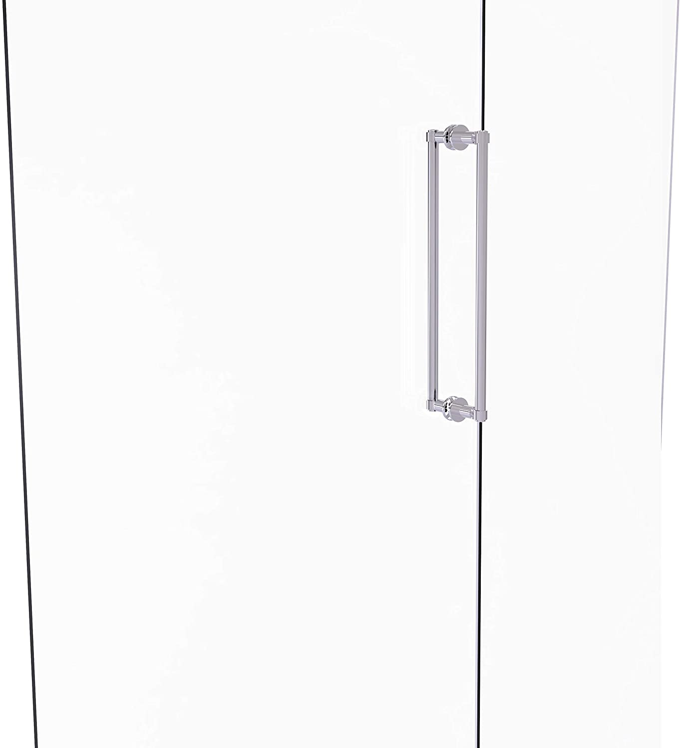 Allied Brass 405-18BB Contemporary 18 Inch Back Shower Door Pull, Polished Chrome