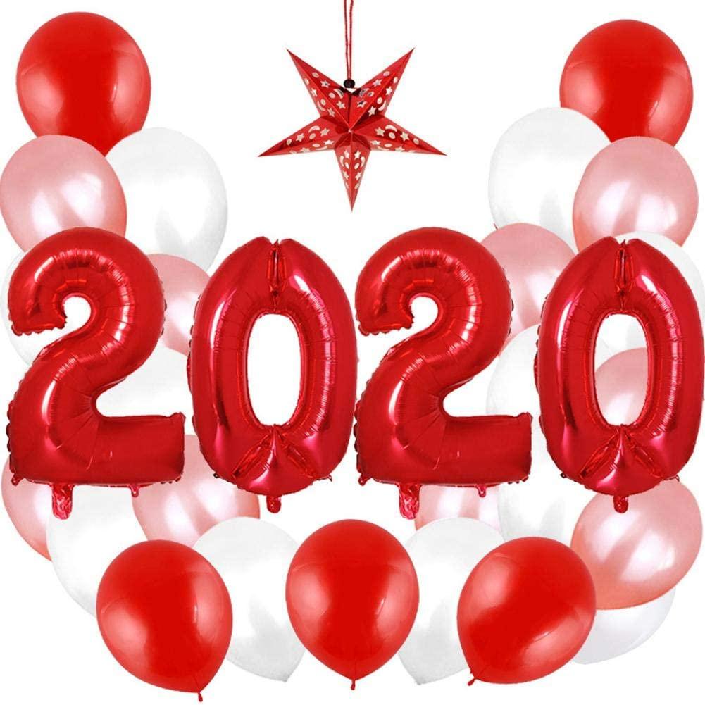 Singa-Z 2020 32 Inch Digital Aluminum Balloon Printed Balloon for Christmas Party Decoration