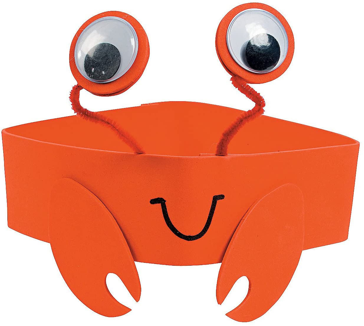 Crab Foam Headband Craft Kit - Crafts for Kids and Fun Home Activities