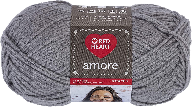 Red Heart Amore, Earl Grey Yarn