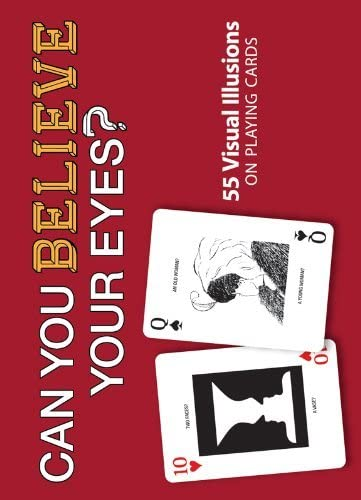 Can You Believe Your Eyes? Playing Cards