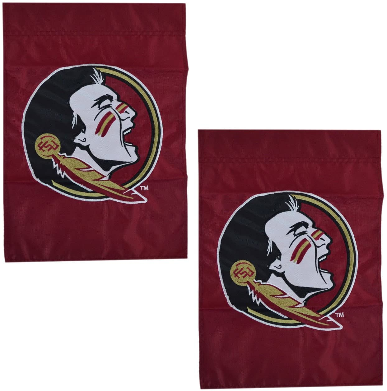 Party Animal Official NCAA 2-Pack Mini Garden/Window Flag (Florida State Seminoles)