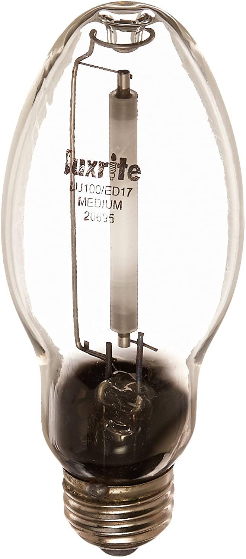 LUXRITE #20695 - 100w / MED ED17 High Pressure Sodium bulb
