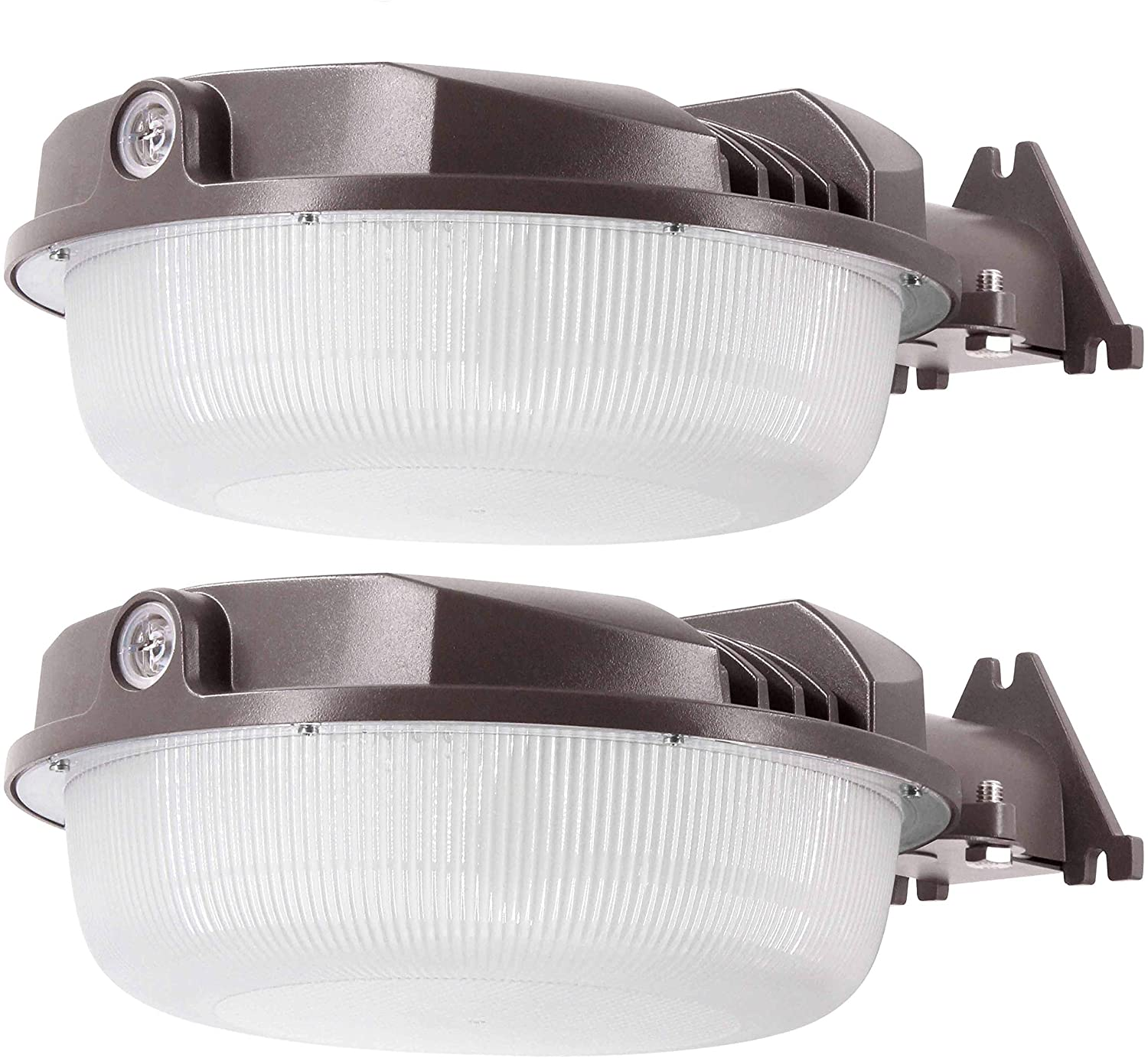 2Pack 70W LED Yard Light for LED Dusk to Dawn Light - Brightest 70 Watt - 9800 Lumens! - Perfect for use as an LED Yard Light, LED Barn Light or LED Security Light Photocell Included 2PK for 70W