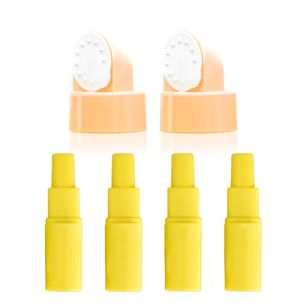 Maymom Flange Adapter for Spectra S1, Spectra S2 to Use Medela breastshield and Bottle; Connects Medela Pump in Style and Spectra Backflow Protector; 2 Maymom Valves/Membranes for Medela Pump Parts