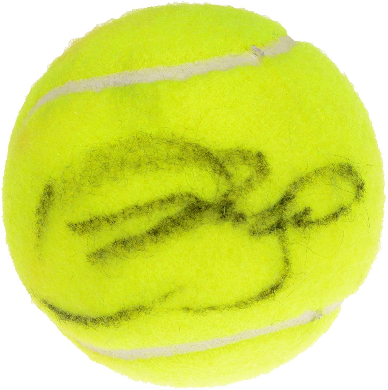 Amelie Mauresmo Autographed Wilson Tennis Ball - Autographed Tennis Balls