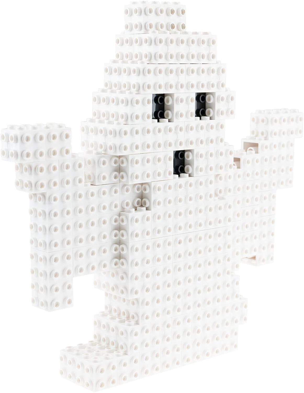 Strictly Briks - 3D Play Ghost - Building Bricks & Blocks - 100% Compatible with All Major Brands - Halloween Brick Construction Toy Set - 149 Pieces