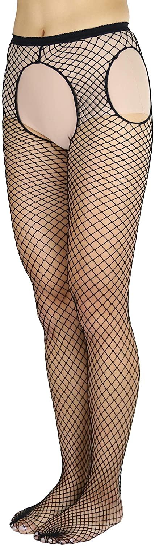 ToBeInStyle Women's Flirty Suspender Pantyhose