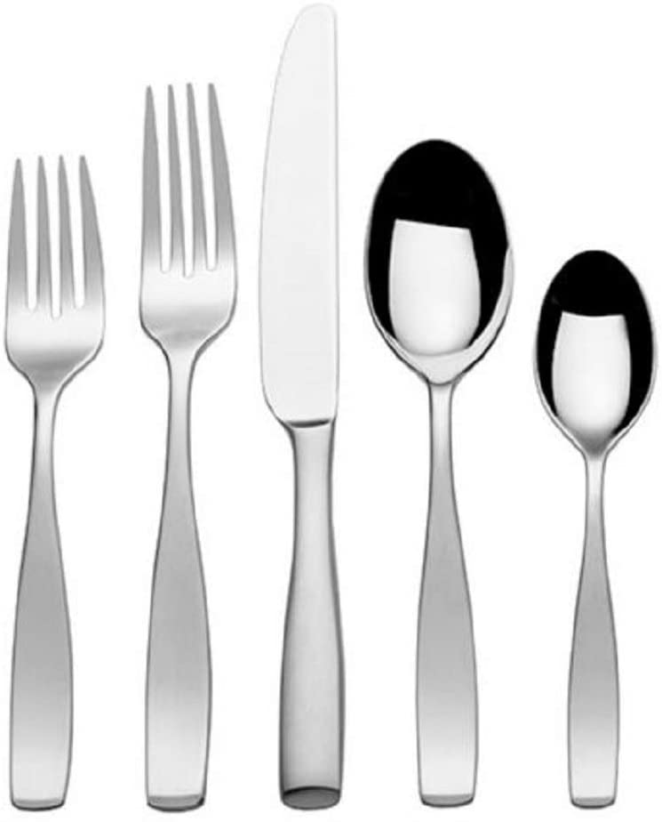 Mikasa Satin Loft 18/10 Stainless Steel 5pc. Place Setting (Service for One)