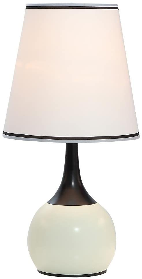Ok lighting OK-815PL-SP1 Table Touch Lamp, 12 x 12 x 23