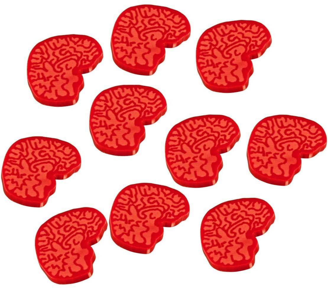 LITKO Brain Tokens, Red (10)